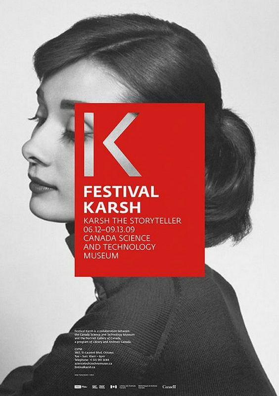 The Festival Karsh Poster