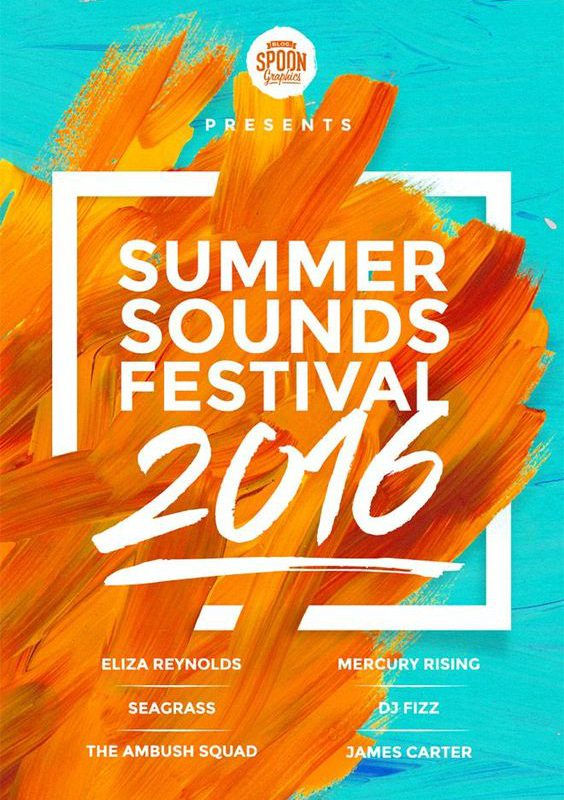 Summer Sounds Poster