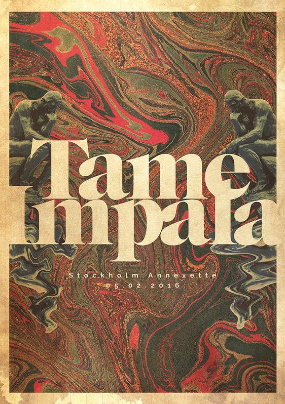 Captivating Tame Impala Poster