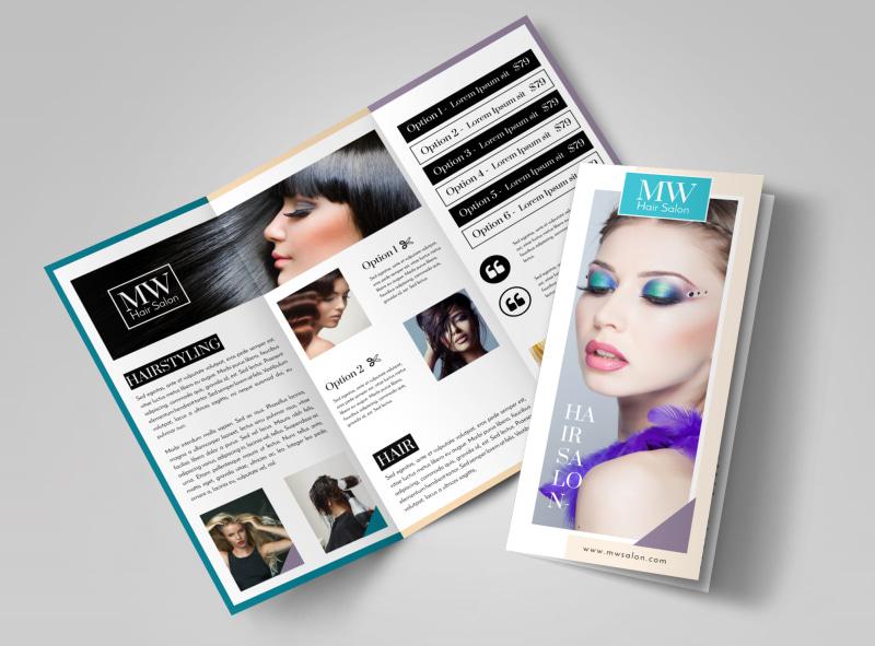 beautifully expressive brochure