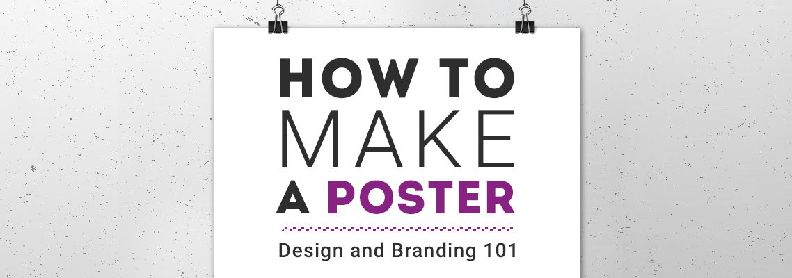 How to make a poster