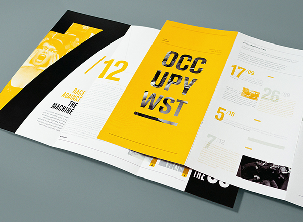 impressively dynamic brochure