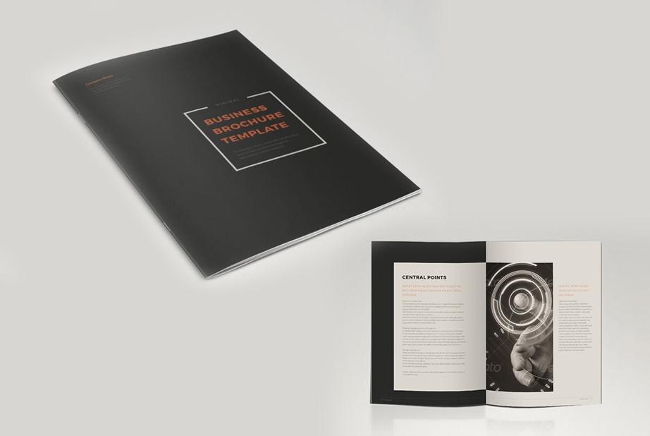 Red Black Business Brochure