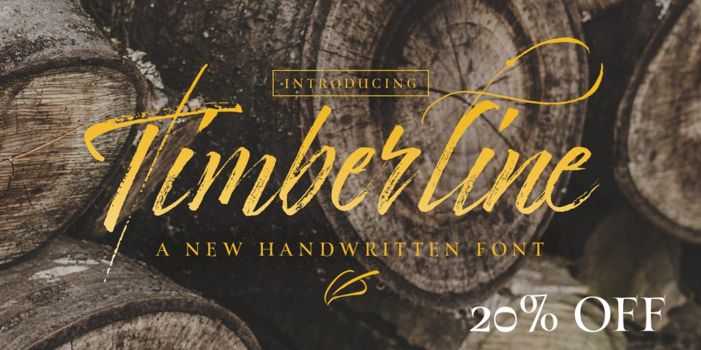 timberline font