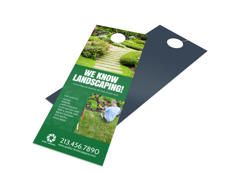 Landscaping Door Hangers