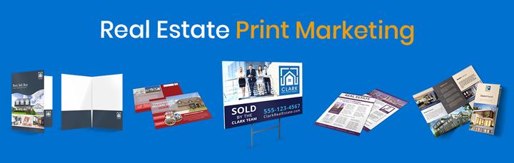 Real Estate Print Marketing