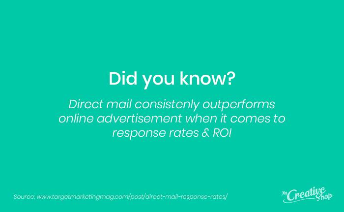 Real Estate Print Marketing Fact