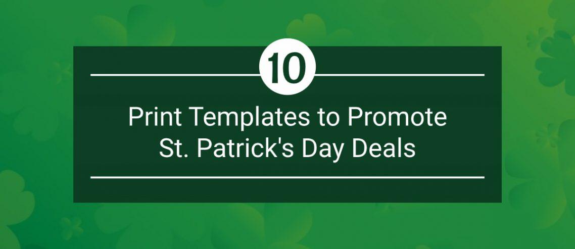 Saint Patrick's Day Print Templates