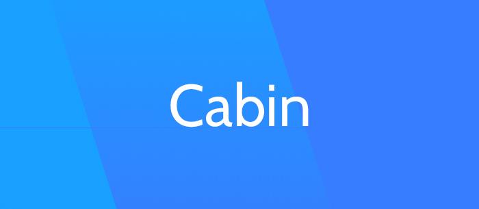 cabin-font-blog