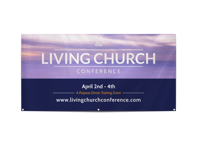 Church Conference Banners