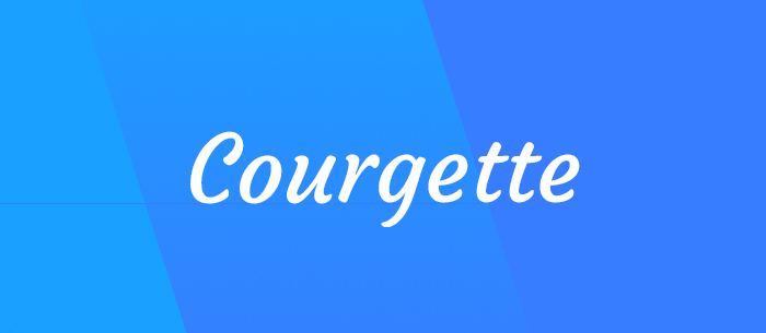 courgette-font-blog