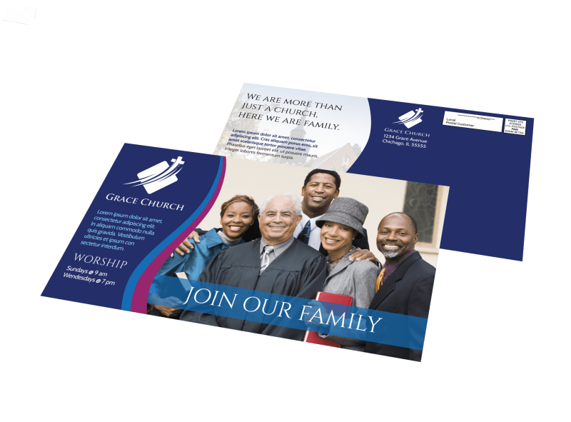 Direct Mail Church Postcards