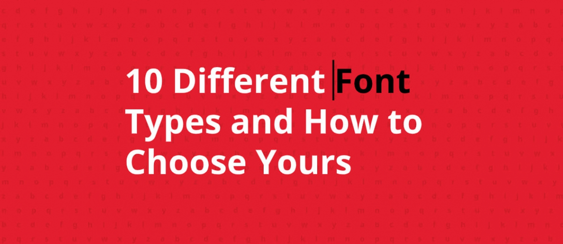 How to choose your font