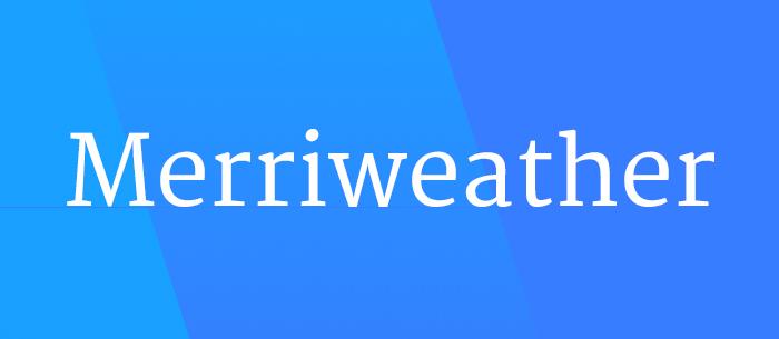 merriweather-font-blog