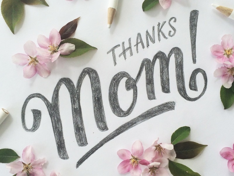Mother's Day Calligraphy