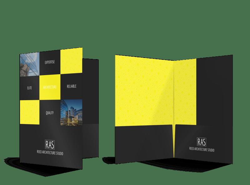 Architecture Trade Show Pocket Folders