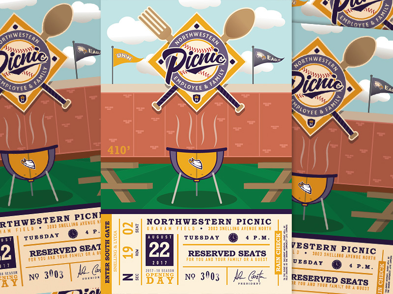 Baseball Theme Design