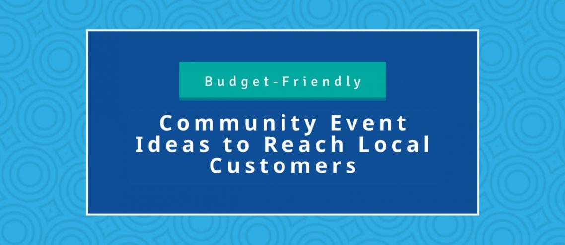Budget Friendly Community Event Ideas