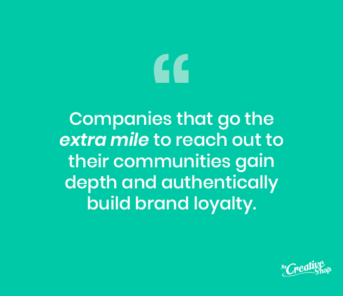 Extra Mile Brand Loyalty