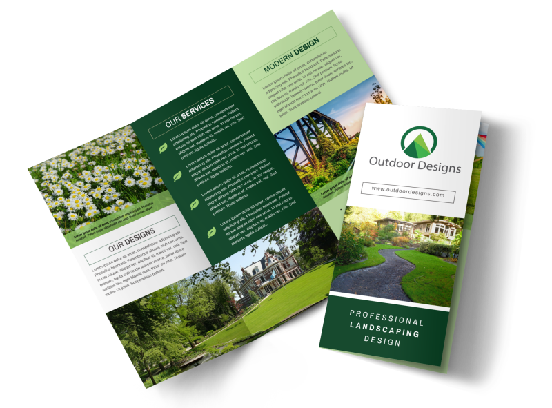 Landscaping Trade Show Brochure