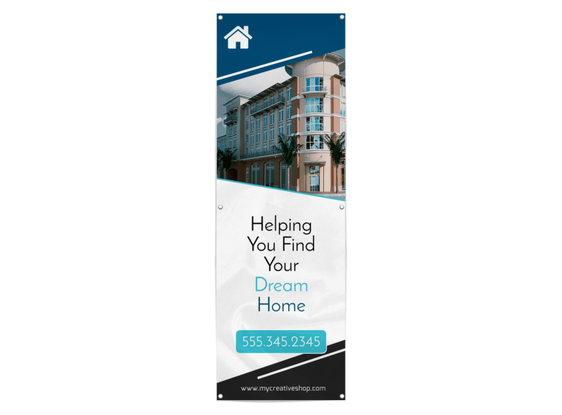 Real Estate Trade Show Banner
