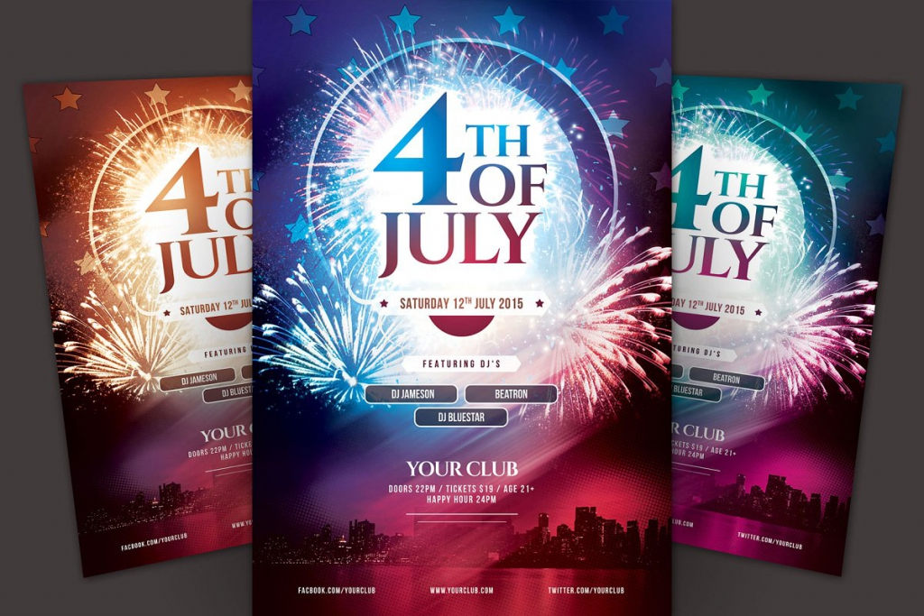 Firework Excitement Flyer