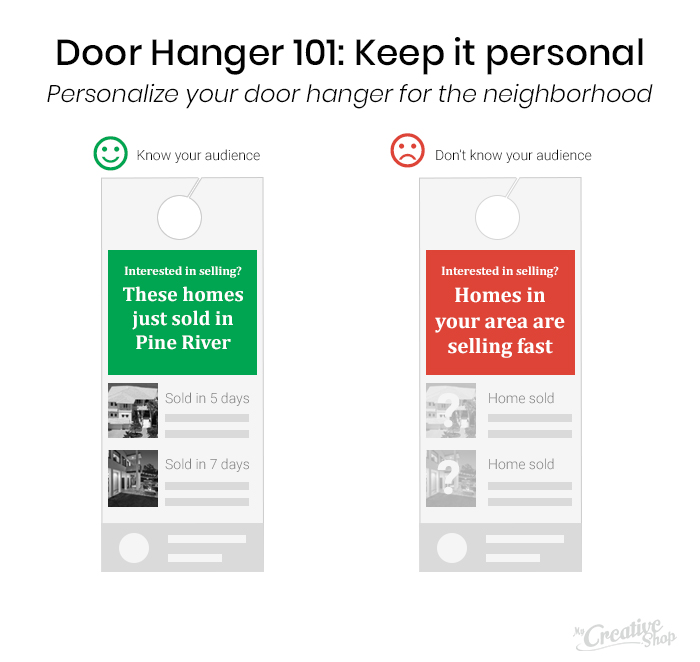 Personalize Your Door Hanger