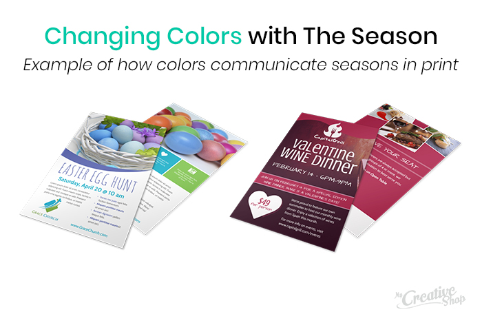 Seasonal Print Colors