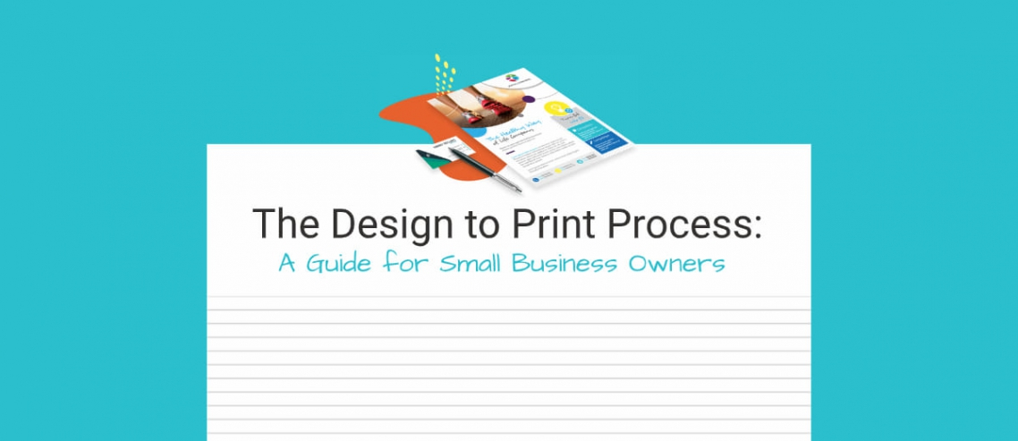The Design To Print Process