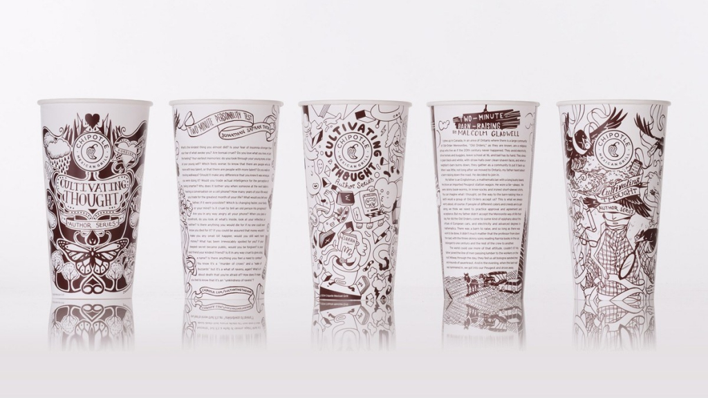 Chipotle Illustration Marketing