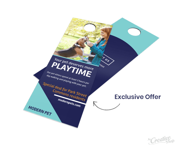 Exclusive Door Hanger Promotion