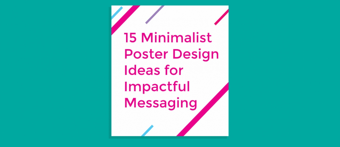 Minimalist Poster Design Ideas