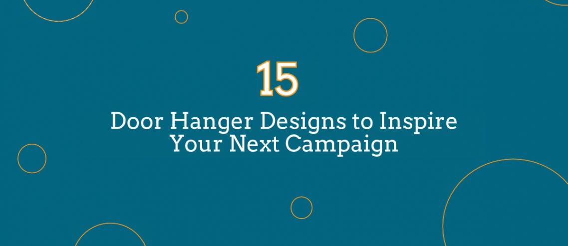 Door hanger designs to inspire
