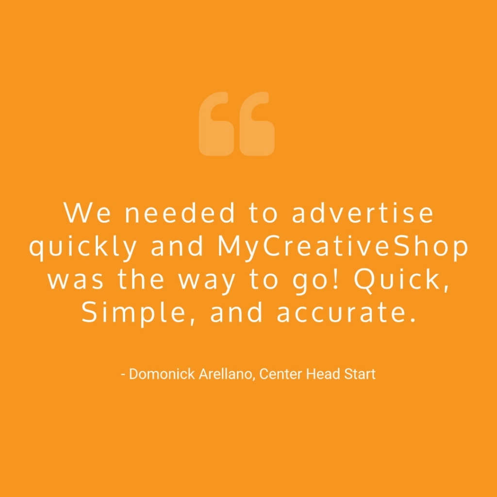 MyCreativeShop Quote