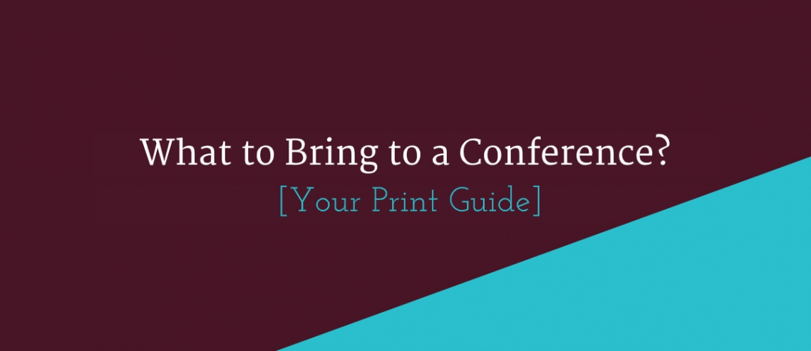 What to bring to a conference - print guide