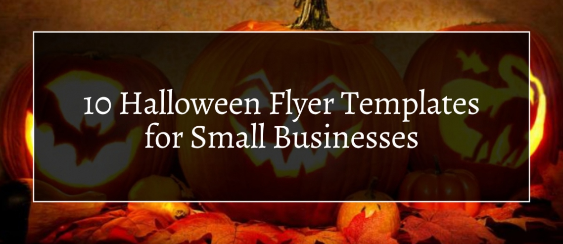 10 Halloween Flyer Templates for Small Businesses