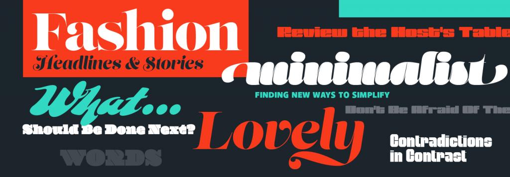 Adobe High Contrast Font Pack