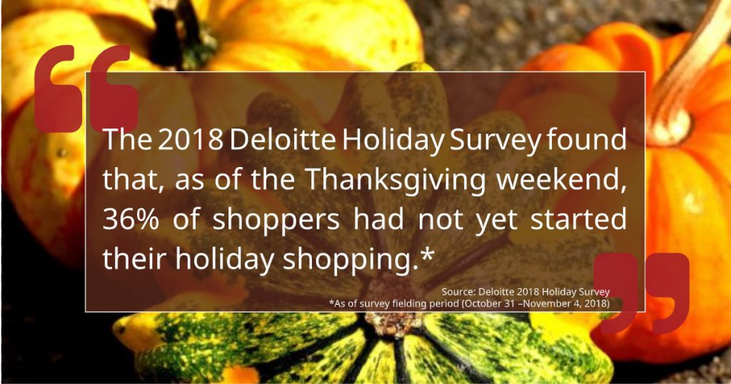 Thanksgiving Weekend Shopping Graphic