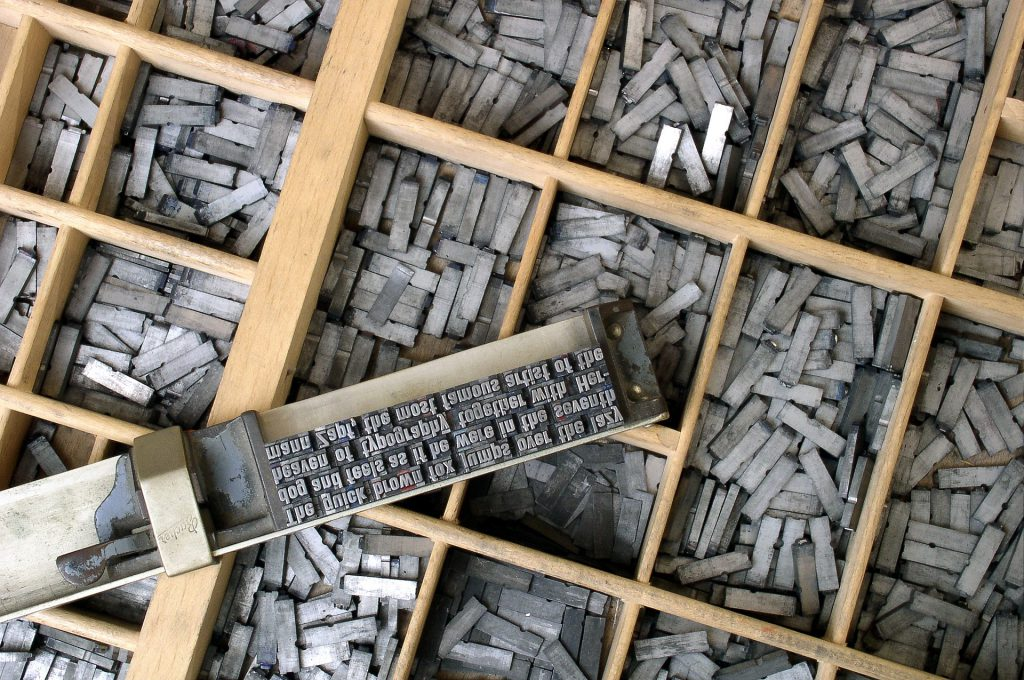 Typesetting and Typecase