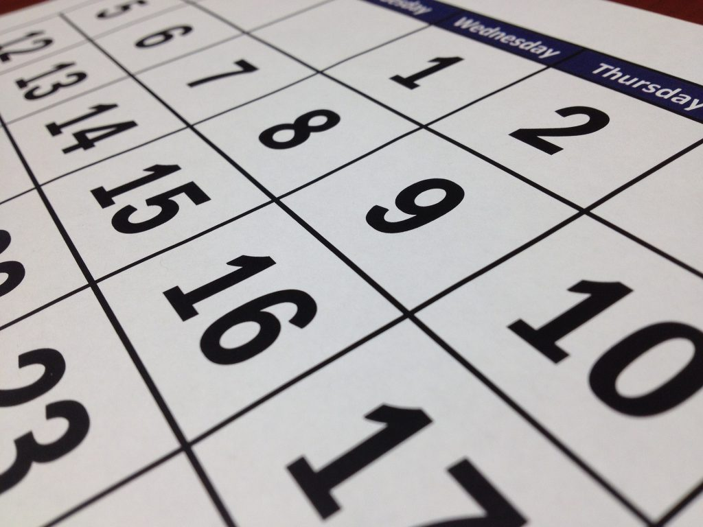 Calendar Graphic - Marketing materials to stand the test of time.