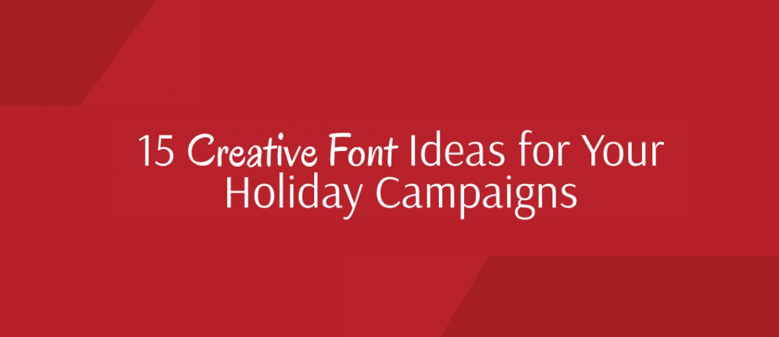 Creative Christmas Fonts