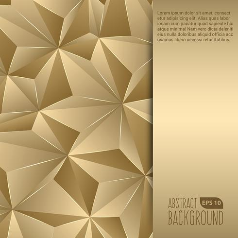 Gold Abstract Background Flyer Source: Vecteezy