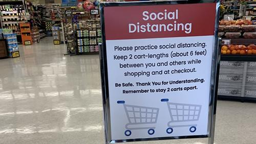 Grocery Store Distancing