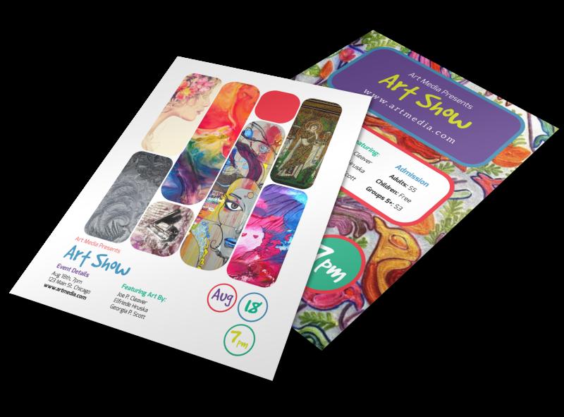 Illustrative Design Flyer