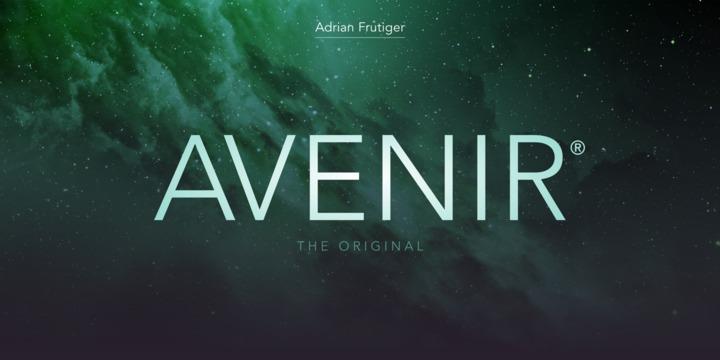 Avenir by Linotype