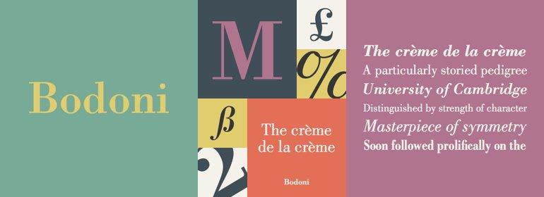 Bodoni by Linotype