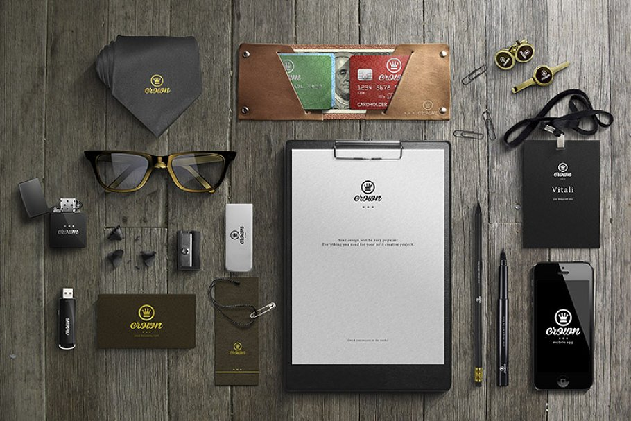 Branding / Business Mock-Up by Shaman at CreativeMarket
