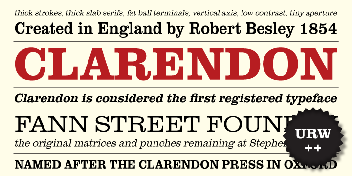 Clarendon by Download Fonts