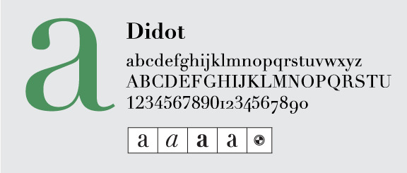 Didot by Linotype