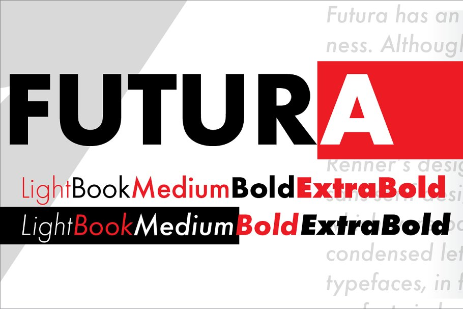 Futura Medium by URW